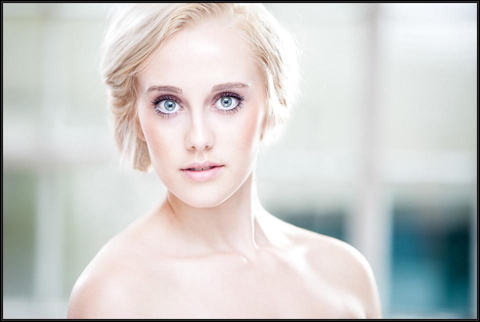 Model's portfolio photo.
