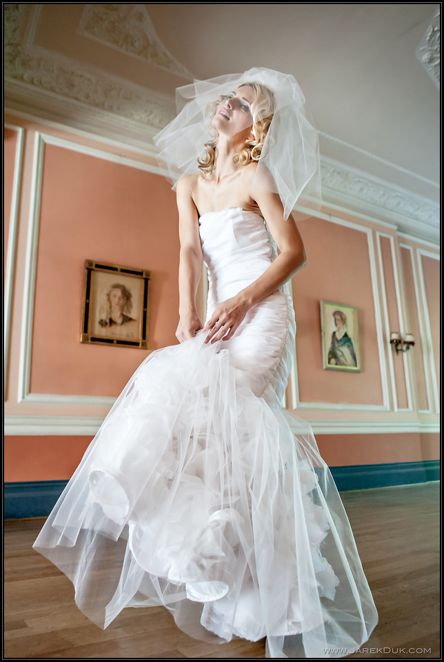 Fashion Photography London. Bridal fashion.
