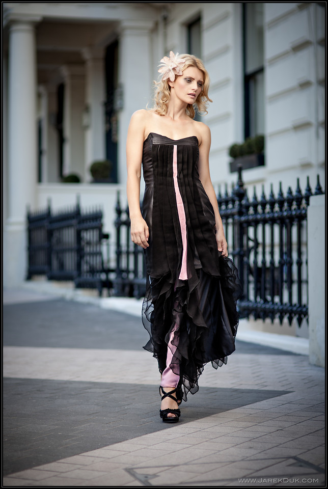 Fashion Photography London. Classy elegant street fashion.