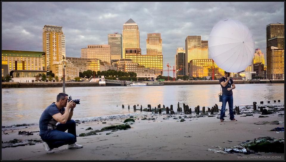 Fashion photography London shoot BHS