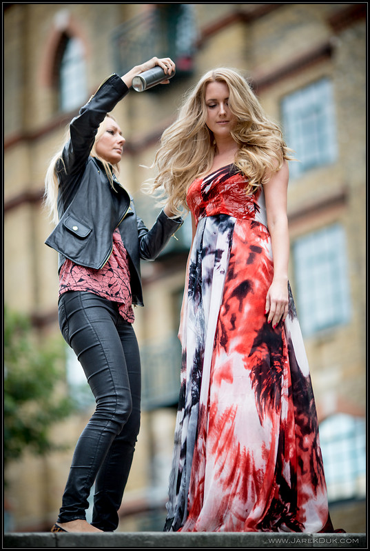 Fashion Photography London, fashion shoot preparations.