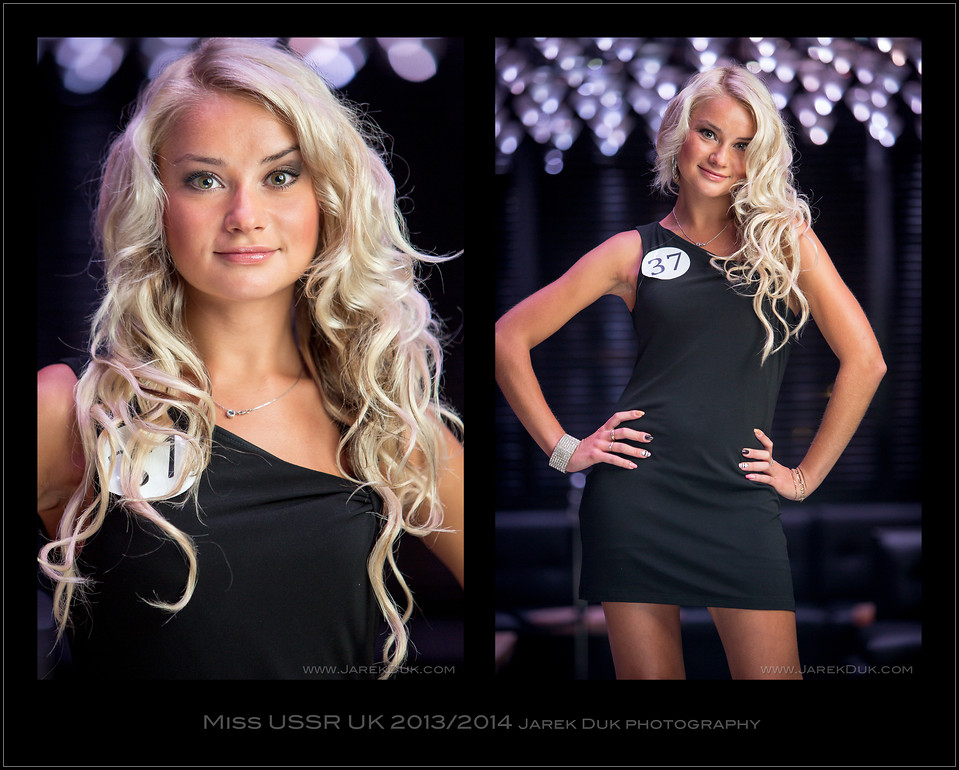 Miss USSR UK 2013-2014 London casting Nr.2 official contestant's photo