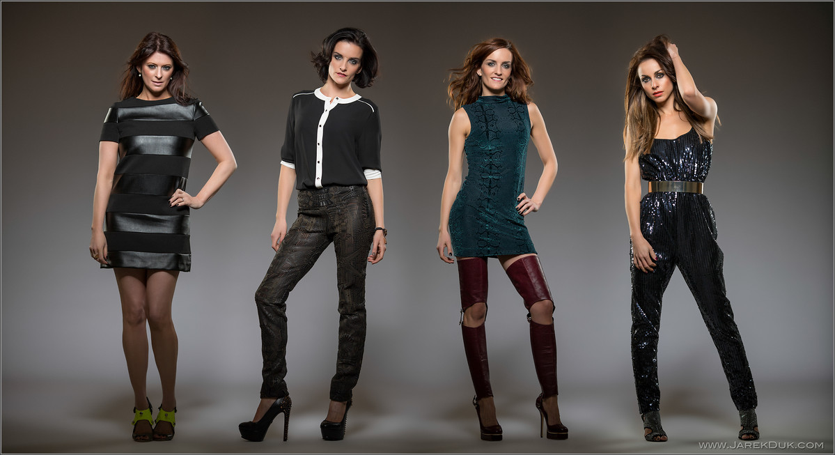 B*Witched Big Reunion photo shoot. Sinéad O'Carroll, Edele Lynch, Keavy Lynch, Lindsay Armaou. Music photography London.