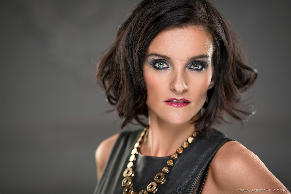 B*Witched Big Reunion photo shoot. Edele Lynch, celebrity portrait, singer headshot.