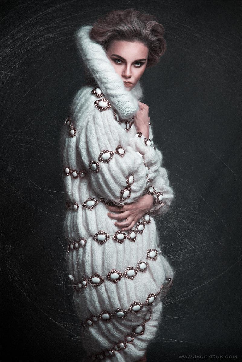 Fashion photography London. Intriguing, unique and stylish photo by fashion photographer Jarek Duk.