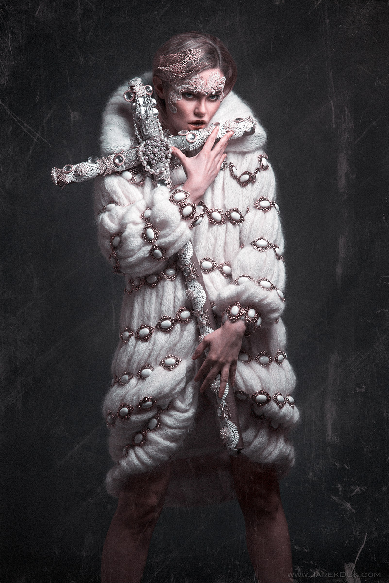 High fashion photography London. Design by Anoosh Naghibi, photo by fashion photographer Jarek Duk.