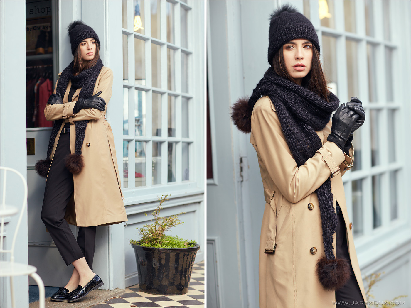 fashion photographers London winter collection lookbook