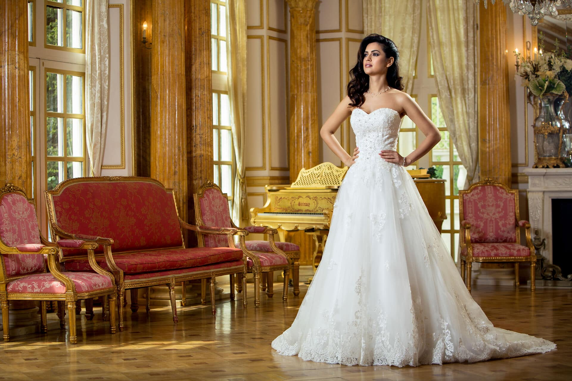 Fashion Campaign Photography London Bridal collection photo by Jarek Duk