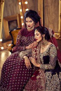 Fashion Campaign Photography London. Asian bridal collection. Photo by Jarek Duk