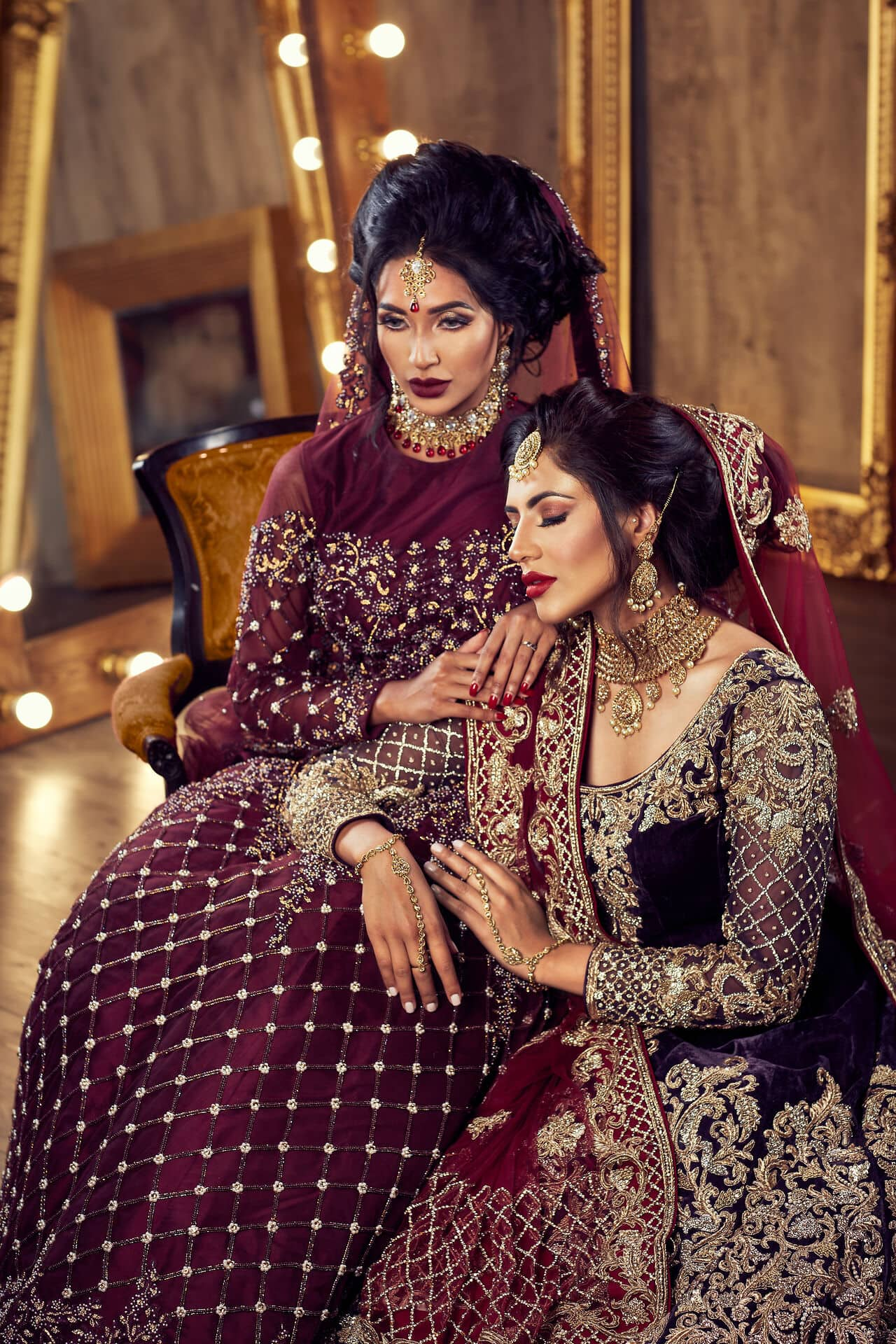 Fashion Campaign Photography London. Asian bridal collection. Photo by Jarek Duk